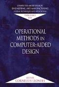 Operational Methods in Computer-Aided Design