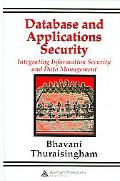 Database And Applications Security Integrating Information Security And Data Management