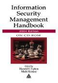 Information Security Management Handbook, 2004