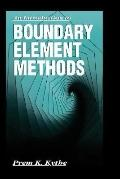 Introduction to Boundary Element Methods/Book and Disk