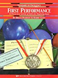 Standard of Excellence First Performance, Alto Clarinet (13 Piece in a variety of styles for...