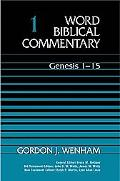 Word Biblical Commentary Genesis 1-15