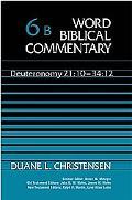 Word Biblical Commentary Deuteronomy 21 10-34 12