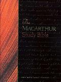 The MacArthur Study Bible, Large Print Edition