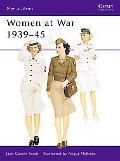 Women at War 1939-45 - Jack Cassin-Scott - Paperback