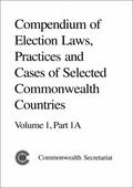 Compendium of Election Laws, Practices and Cases of Selected Commonwealth Countries