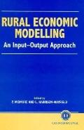 Rural Economic Modelling An Input-Output Approach