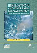 Irrigation and River Basin Management Options for Governance and Institutions