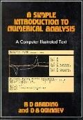 Simple Introduction to Numerical Analysis, Vol. 1 - R.D. D. Harding