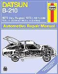 Datsun Owners Workshop Manual, B-210
