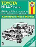 Toyota Hi-Lux Pick-Up 1969 Thru 1978 113 Cu in