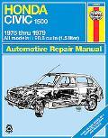 Honda Civic 1500 and Cvcc Automotive Repair Manual, 1975-1979