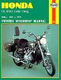Honda Gl1000 Gold Wing Owners Workshop Manual, 1975-1979