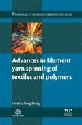 Advances in Filament Spinning of Polymers and Textiles