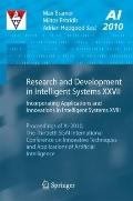 Research and Development in Intelligent Systems XXVII : Incorporating Applications and Innov...