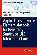 Applications of Finite Element Methods for Reliability Studies on ULSI Interconnections (Spr...