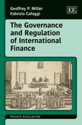Governance and Regulation of International Finance