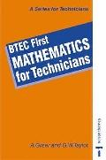 BTEC First-Mathematics for Technicians - A. Greer - Paperback