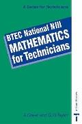 BTEC National N111 Mathematics for Technicians - A. Greer - Paperback