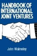 Handbook of International Joint Ventures
