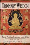 Ordinary Wisdom Sakya Pandita's Treasury of Good Advice