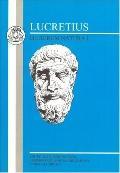 Lucretius De Rerum Natura I