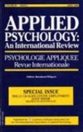 Skills, Qualifications, Employment: A Special Issue of Applied Psychology: An International ...