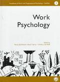 Handbook of Work and Organizational Psychology Work Psychology