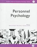 Handbook of Work and Organizational Psychology Personnel Psychology