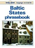 Lonely Planet Baltic States Phrasebook