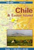 Chile and Easter Island Travel Atlas: With Travel Information and Roadtesting