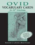 Ovid Vocabulary Cards for AP Selections
