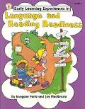 Language and Reading Readiness