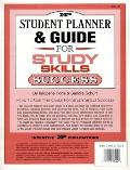 Student Planner and Guide for Study Skills Success