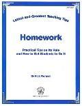 Latest & Greatest Teaching Tips: Homework Foldout (Latest & Greatest Teahing Tips)