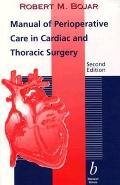 Manual of Perioperative Care in Cardiac