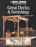 Great Decks & Furnishings A Step-By-Step Guide