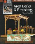 Portable Workshop Great Decks - Cowles Creative Publishing