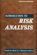 Introduction to Risk Analysis A Systematic Approach to Science-Based Decision Making