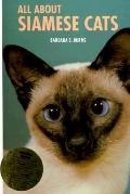 All about Siamese Cats - Barbara S. Burns - Hardcover