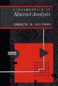 Fundamentals of Abstract Analysis