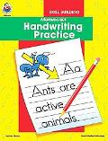 Manuscript Handwriting Practice Skill Builder (Handwriting Skill Builders)