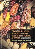 Transformation of Agricultural Research Systems in Africa Lessons from Kenya
