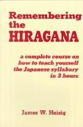 Remembering the Hiragana