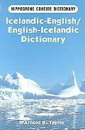 Icelandic-English/English-Icelandic Dictionary