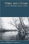 Water and Climate in the Western United States
