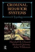 Criminal Behavior Systems A Typology