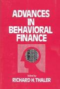 Advances in Behavioral Finance