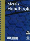 Metals Handbook Desk Edition