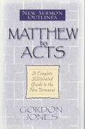 Matthew to Acts